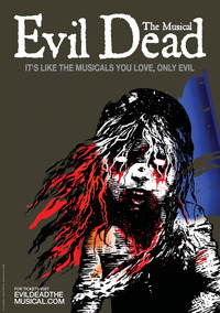 An image of a poster for The Evil Dead: The Musical